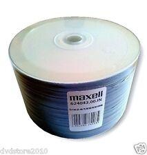 CD -R Maxell PRINTABLE print SRINK 700MB stampabili + 1cd verbatim 624043