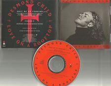 DESMOND CHILD w/ JOAN JETT Richie Sambora Love on a Rooftop EDIT PROMO CD Single