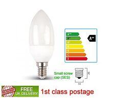 3w Candle LED Light Bulbs E14 SES Small Edison Screw Cap warm white 1st class