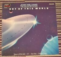 John Williams The Boston Pops Out of this World Vinyl LP Record 33rpm 1983