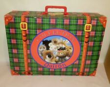 COLLECTION QUIRON MALETIN PEUCOS OSO PELUCHE MADE IN SPAIN VINTAGE  RARE