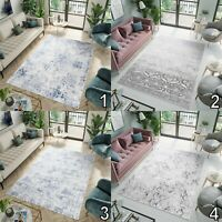 Modern Rug Small Extra Large Soft Abstract Bedroom Rugs 3D Effect S - XXL Carpet