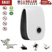 Electric Ultrasonic Mosquito Killer Lamp Outdoor/Indoor Fly Bug Insect Trap