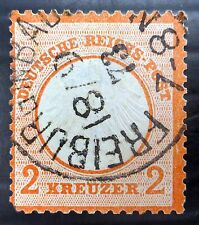 GERMANY 1872 - 2K SG9 Fine/Used with Tiny Short Corner Perf NB1779