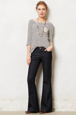 PILCRO LETTERPRESS ANTHROPOLOGIE STET FLARE JEANS LIBERTY SIZE 27 NWT