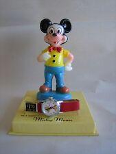 Vtg Mickey Mouse Wrist Watch New Old Stock NIB Timex Walt Disney's Mint