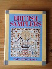 British Samplers Book by Mary Eirwen Jones