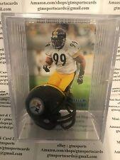 Levon Kirkland Pittsburgh Steelers Mini Helmet Card Display Collectible Auto