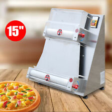 Commercial Electric Pizza Dough Roller Sheeter Dough Press Roundinmachine 370w