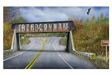 "79 ""Gateway to the Northwoods"" 20x34 Canvas Print by Robert Metropulos"