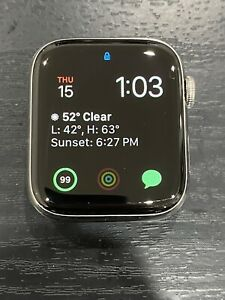 Apple Watch Series 4 GPS Cellular 44mm Silver Stainless Steel