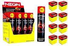 96 CANS Master Case NEON 5x Super Refined Butane Fuel Bulk Wholesale FREE SHIP