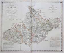 Original Grafiken & Drucke aus Tschechien mit Landkarten-Motiv von vor 1800