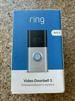 Ring Video Doorbell 3 1080p HD Security Camera - BRAND NEW Factory Sealed!