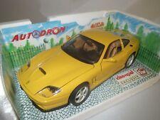 """Bburago  Ferrari  550  Maranello  Idee&Spiel  """"1996""""  (gelb) 1:18  OVP !"""