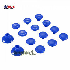 Blue Removable Thumbstick Joystick Plastic Bottom for Xbox One PS4 Controller