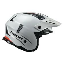 Hebo Zone 4 Mono Trials Helmet White