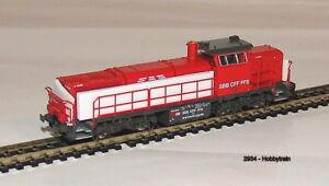 2934- Hobbytrain - Diesellok Am843 SBB Infra, Ep.V  neu OVP