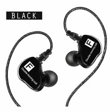 Waterproof 3.5mm Wired Headphones In-Ear Earbuds Sports HiFi Stereo Bass Headset