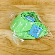 12x Lime Green Foam Visors Hats by Creatology
