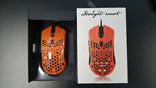 Finalmouse Ultralight mouse in Sunset Orange (used once, mint condition)