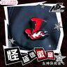 Hot Anime Persona5 JOKER Kurusu Akira Alloy Badge Cosplay Bag Pendant