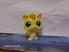 Littlest Pet Shop Yellow Sugar Glider with Green Eyes #990