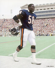 WILBER MARSHALL 1986 CHICAGO BEARS 8X10 PHOTO #2