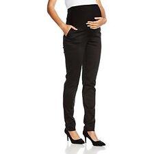 Ripe Maternity Women Theatre Straight Trousers Black Size 10 Manufacturer Siz
