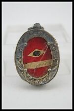 † 19TH ST GERMAINE COUSIN SHEPHERD RELIQUARY 1 THECA RELIC WAX SEALED FRANCE †