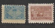 1400a-SELLO FISCAL 1930 CAJA PENSIONES VEJEZ AHORRO BARCELONA 1 CENTIMO.revenue