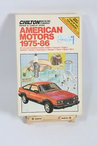 AMC Eagle AMX Concord Gremlin Hornet Kammback Pacer SX-4 Service Repair Manual