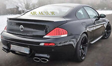 Painted Color BMW 2004-2008 E63 6-series Coupe V Type Trunk Spoiler M6 630i