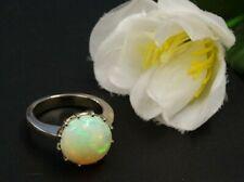 Gold 750 WG Ring - Traumhafter Opal in perfekter Farbvielfalt und stolzer Größe