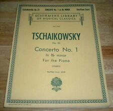 Concerto No 1 in Bb Minor 23: Schirmer Library of Classics Volume 1045 Piano Duet Op