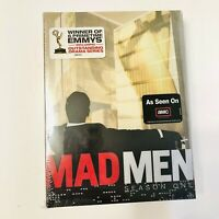Mad Men - Complete Season 1 First (DVD, 2008, 4-Disc Set) NEW & SEALED!