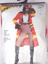 Women's Size 14-16 Fire woman Cosplay Halloween Costume Party Dance
