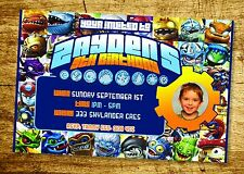 SKYLANDERS Invitation Birthday Party Invite YOU PRINT Digital File
