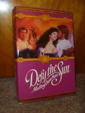 DEFY THE SUN - BY MALLORY DORN HART - VINTAGE HISTORICAL ROMANCE - HARDCOVER