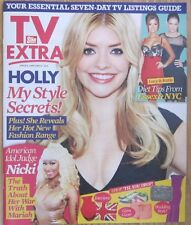 Holly Willoughby – Issue 8 - TV Extra magazine – 27 January 2013