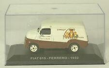 Modellino furgone FIAT 615 del'52 Ferrero 1/43 kinder pubblicità memorabilia-CM