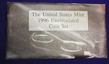1996  U.S. MINT SETS Produced  BY U.S. MINT w/50th W mint  dime