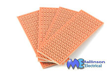 VERO BOARD PROTOTYPING COPPER STRIP BOARD 25x64mm (4 PACK)