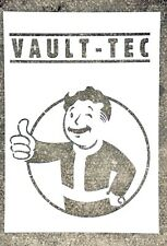 Fallout Vault boy. Stencil thick paper 250g/m2 A4 size for spray paint.