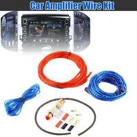 1500w Car Amplifier Install Wiring Kit Audio Subwoofer AMP RCA Power Cable