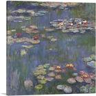 ARTCANVAS Water Lilies 1916 Canvas Art Print by Claude Monet