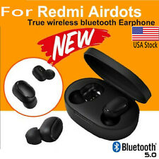 USA  For XIAOMI Redmi AIRDOTS WIRELESS EARPHONE W/ CHARGER BOX Bluetooth 5.0