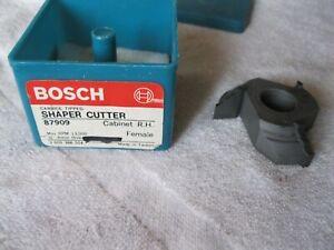 """Bosch Shaper cutter carbide tipped 3/4"""" bore # 87909 NOS bit"""