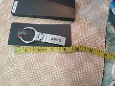 Car Keyring Stainless Car Logo Car Key Chains for Jeep