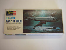 VINTAGE 1965 REVELL LOCKHEED ASW P-3A ORION ANTI-SUB & PATROL BOMBER